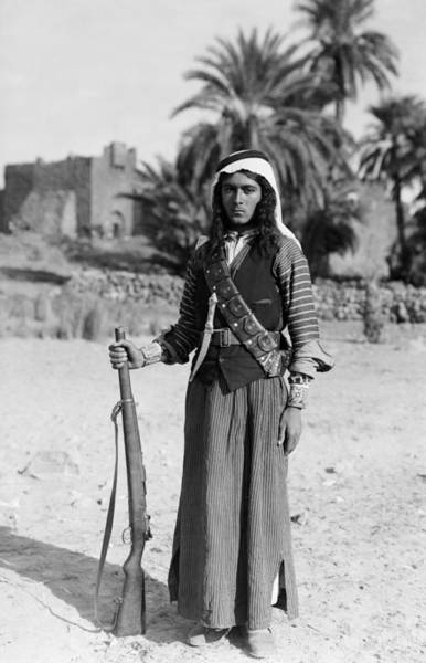 Photograph - Bedouin Youth, C1926 by Granger
