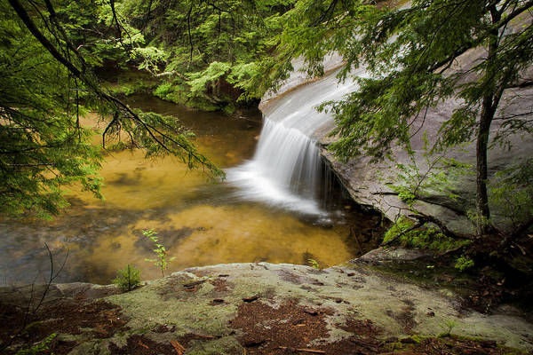Photograph - Beede Falls Horsetail by Robert Clifford