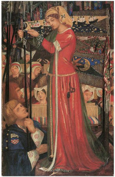 Gabriel Painting - Before The Battle by Dante Gabriel Rossetti