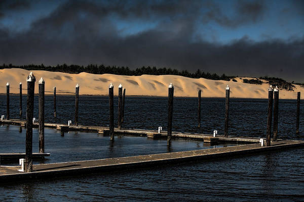 Oregon Sand Dunes Photograph - Before The Storm by Bonnie Bruno