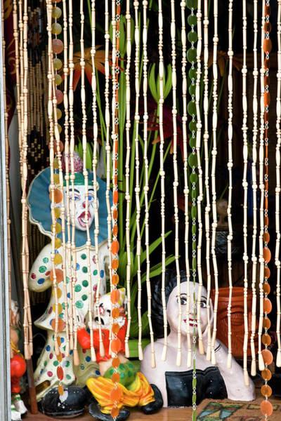 Photograph - Behind The Bead Door by Lorraine Devon Wilke