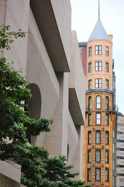 Photograph - Behind The Bpl by Mary McAvoy