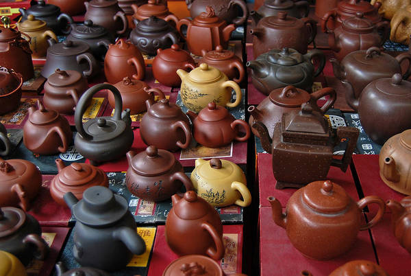 Photograph - Beijing Teapots by Margaret Pitcher