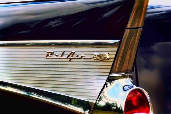 Black Car Photograph - Bel Air by Scott Norris