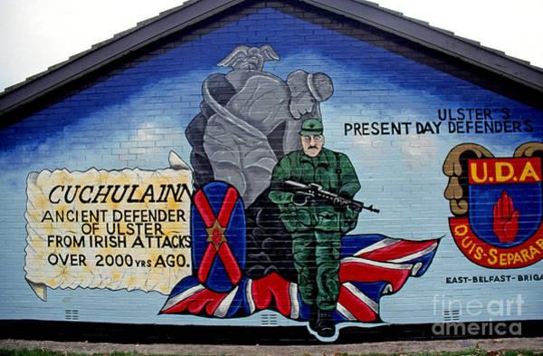 Photograph - Belfast Mural by Thomas R Fletcher
