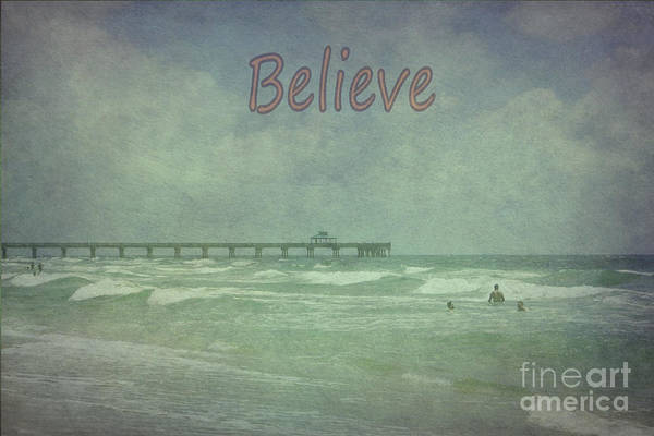 Photograph - Believe by Judy Hall-Folde
