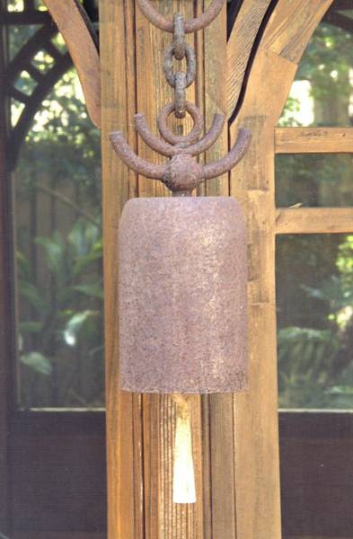 Altamonte Springs Photograph - Bell In Ashram by Gerry Fortuna