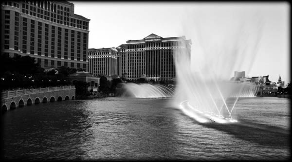 Bellagio Hotel Photograph - Bellagio Fountains II by Ricky Barnard