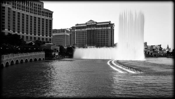 Bellagio Hotel Photograph - Bellagio Fountains by Ricky Barnard