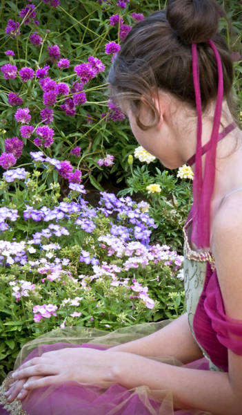 Photograph - Belle In The Garden by Angelina Tamez