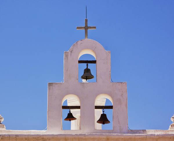 Photograph - Bells Of San Xavier by Tom Singleton