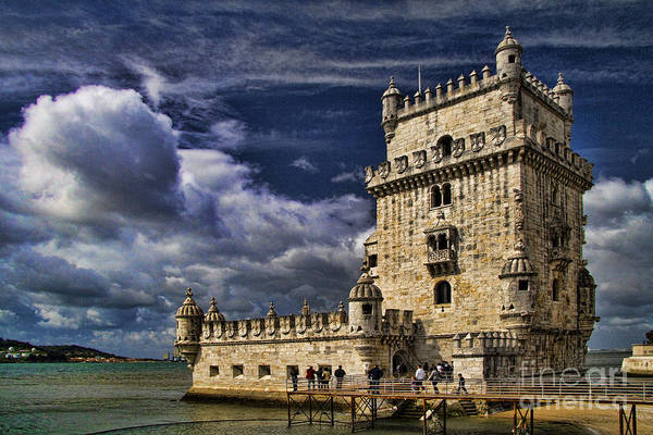 Lisbon Castle Photograph - Belum Tower In Lisbon Portugal by David Smith
