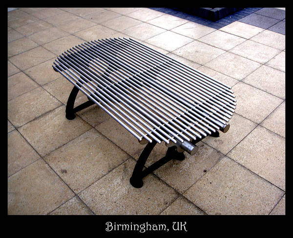 Photograph - Bench 03 by Roberto Alamino