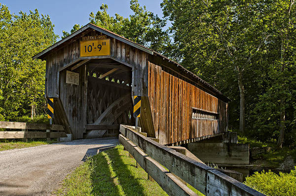 Photograph - Benetka Road Covered Bridge by At Lands End Photography