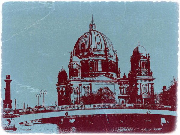 Cathedral Photograph - Berlin Cathedral by Naxart Studio