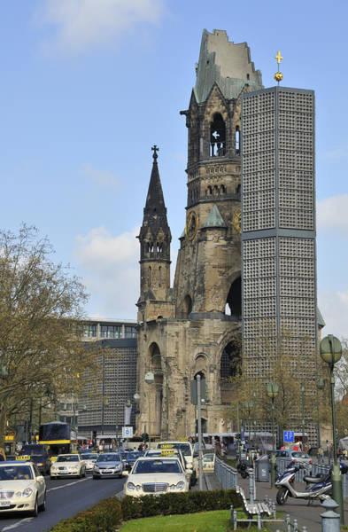Photograph - Berlin Kaiser Wilhelm Memorial Church Kurfuerstendamm by Matthias Hauser