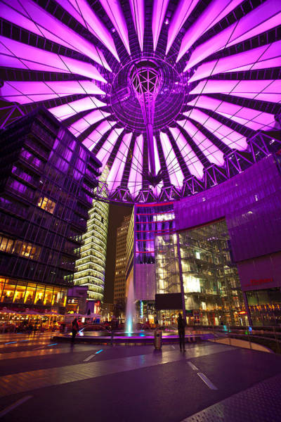 Sony Photograph - Berlin Sony Center by Mike Reid