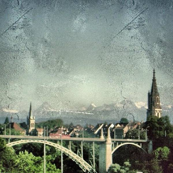 Ancient Photograph - Bern City - Switzerland by Joel Lopez