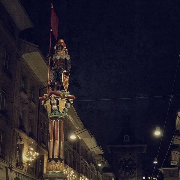 Ancient Photograph - Bern Old City - Switzerland by Joel Lopez