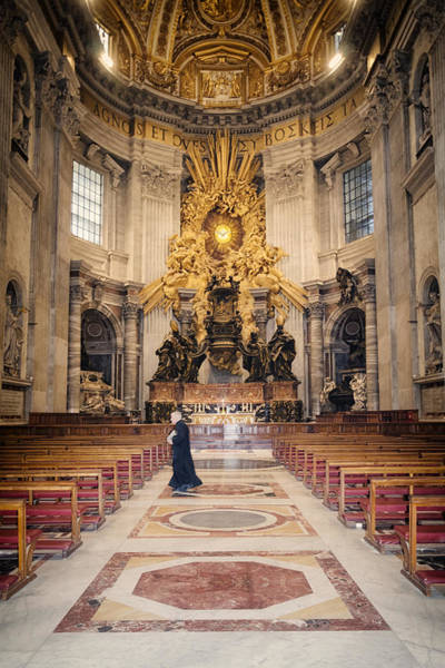 Holy Spirit Photograph - Bernini Masterpiece by Joan Carroll