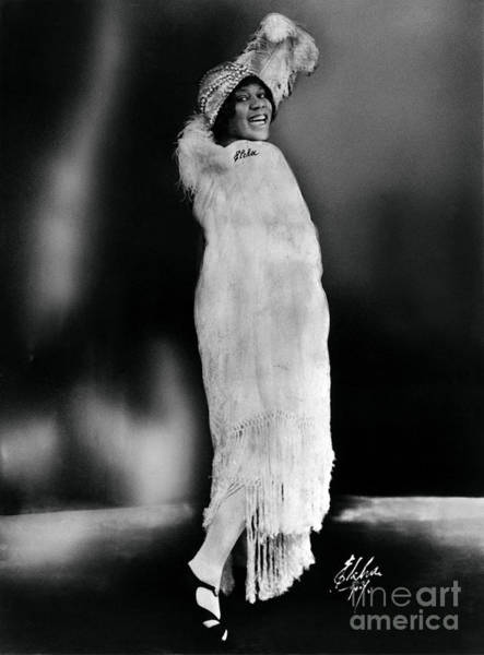 Photograph - Bessie Smith African-american Blues Singer by Omikron
