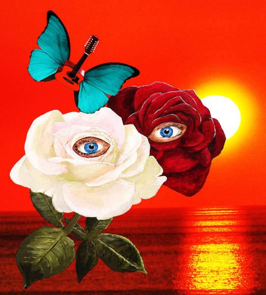 Butterfly On Flower Digital Art - Best For Last by Eric Kempson
