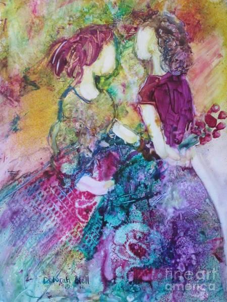 Painting - Best Friends by Deborah Nell