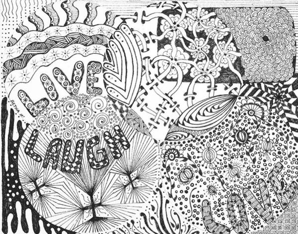 Lava Drawing - Best Friends by Retha Carpenter