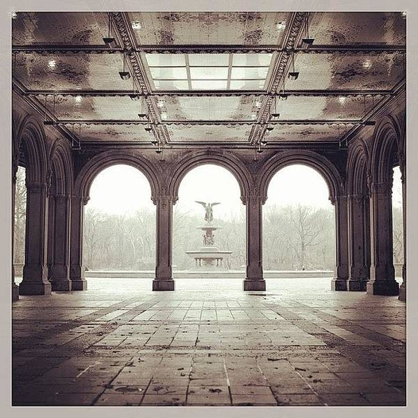 City Scenes Wall Art - Photograph - Bethesda Terrace by Randy Lemoine