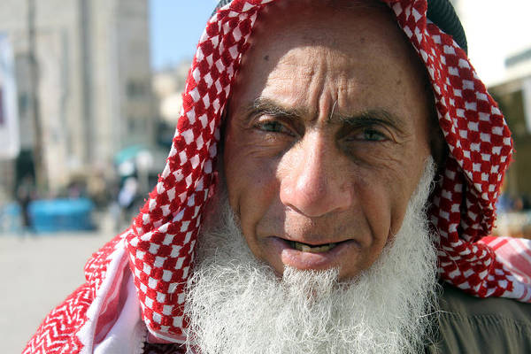 Manger Photograph - Bethlehem Sheikh by Munir Alawi