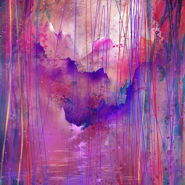 Loneliness Digital Art - Beyond The Tears by Rachel Christine Nowicki