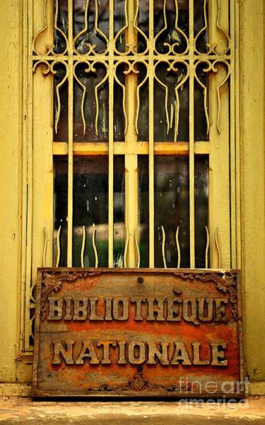 Laos Photograph - Bibliotheque Nationale by Dean Harte
