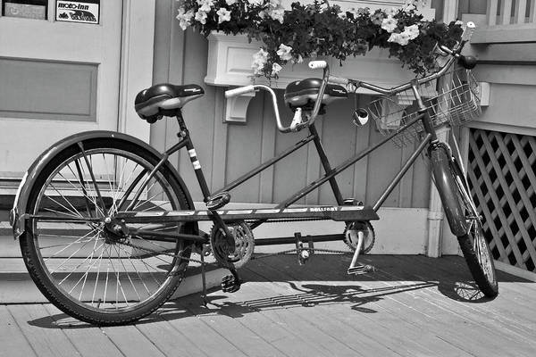 Wall Art - Photograph - Bicycle For Two by Betsy Knapp