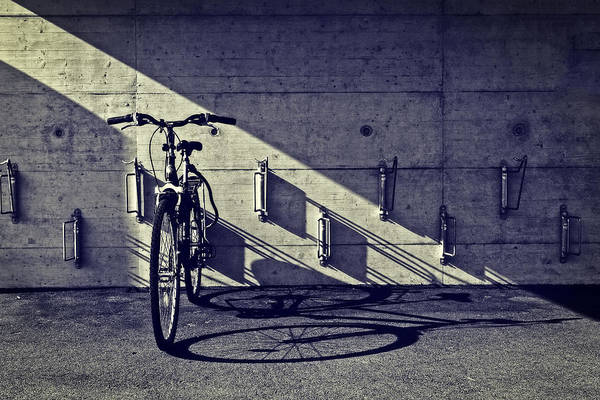 Bicycle Rack Photograph - Bicycle by Joana Kruse