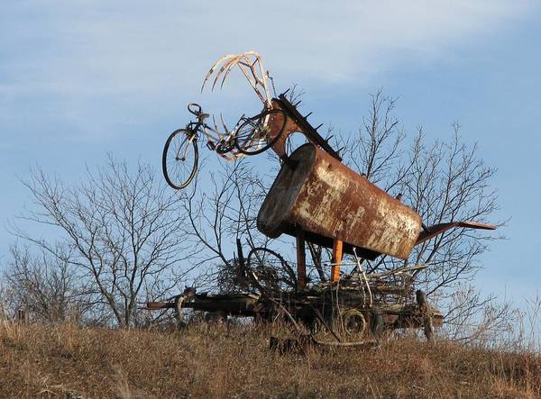 Photograph - Bicycle Monster by Keith Stokes