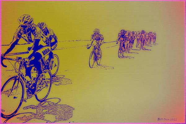 Photograph - Bicycle Race by Bill Cannon