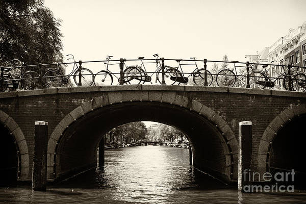Photograph - Bicycles Of Amsterdam by Leslie Leda