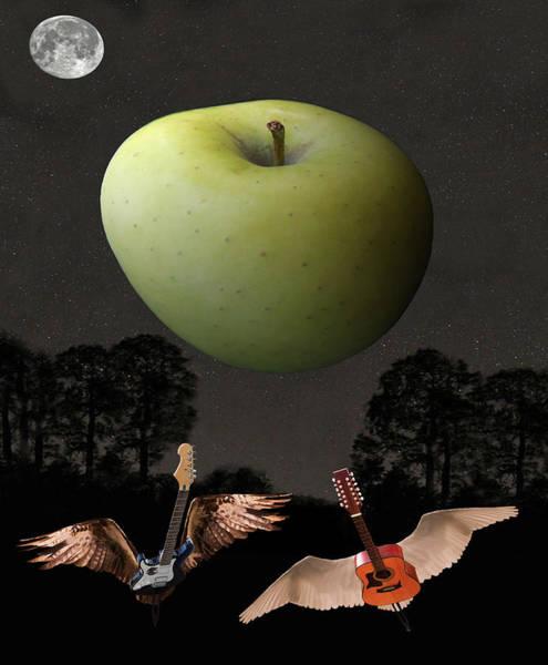 Digital Art - Big Apple Rocks by Eric Kempson