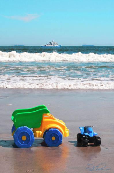 Photograph - Big Beach Toys by S Paul Sahm