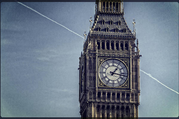 Photograph - Big Ben Chimes by Joan Carroll