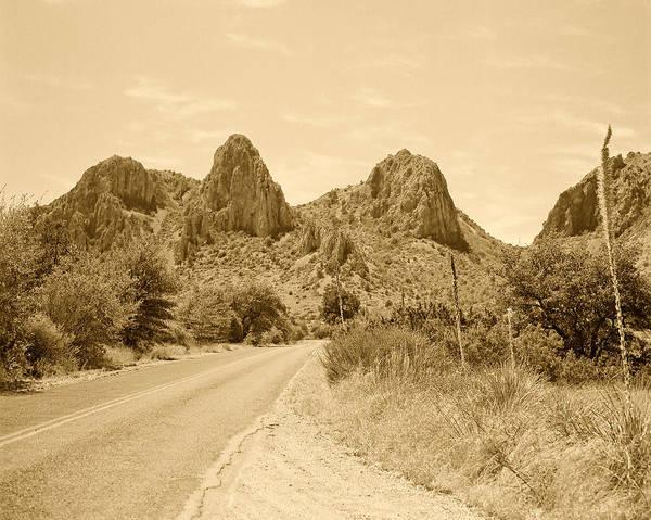 Photograph - Big Bend National Park Drive by M K Miller