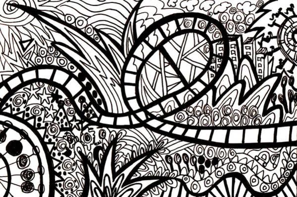 Wall Art - Drawing - Big Dipper by Karen Elzinga
