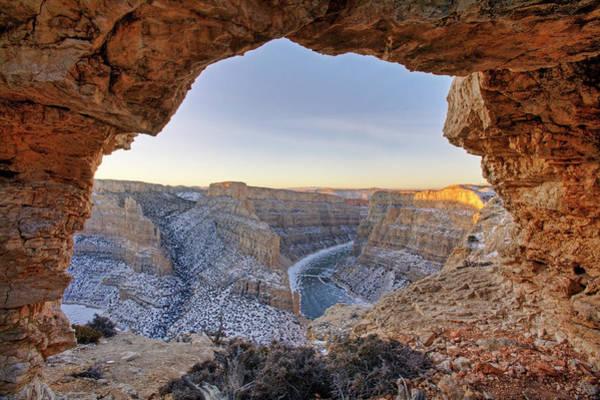 Photograph - Bighorn Canyon Arch by D Robert Franz