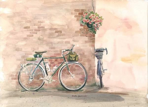 Bike Date Art Print