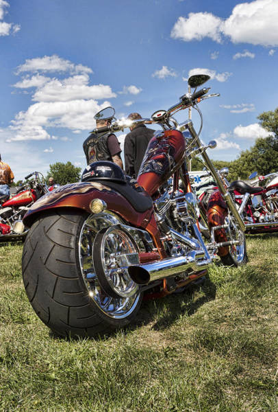 Painted Horses Photograph - Biker Style by Peter Chilelli