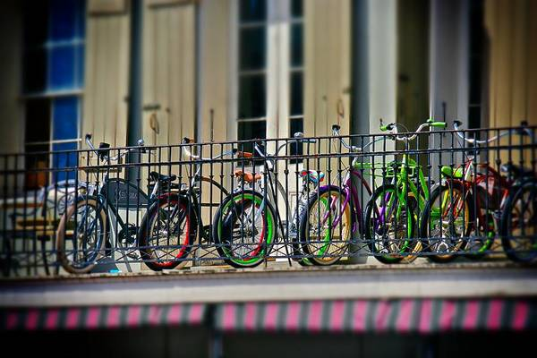 Photograph - Bikes On Top by Jim Albritton