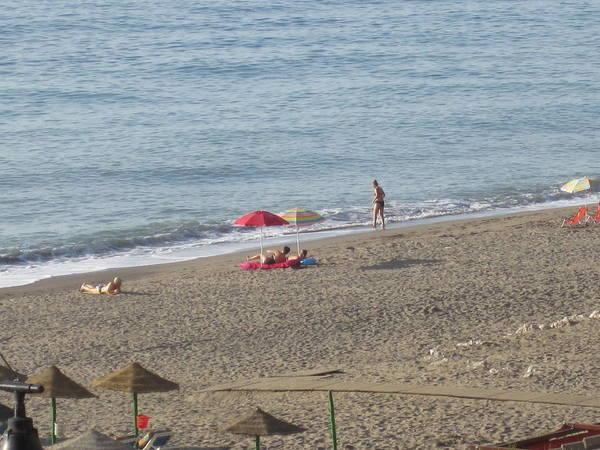 Photograph - Bikini Girl Costa Del Sol Spain by John Shiron