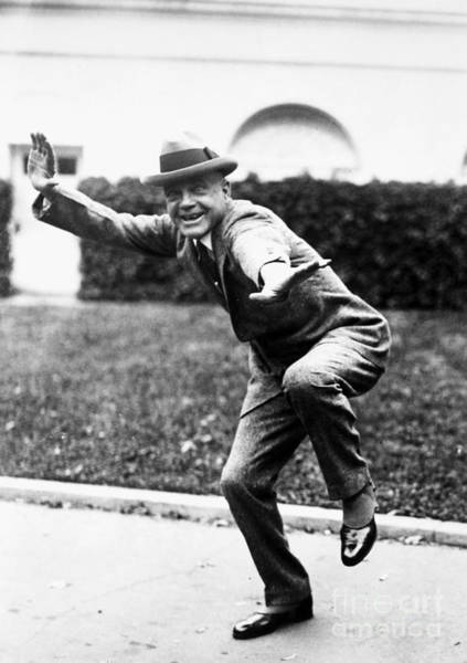 Photograph - Billy Sunday (1862-1935) by Granger