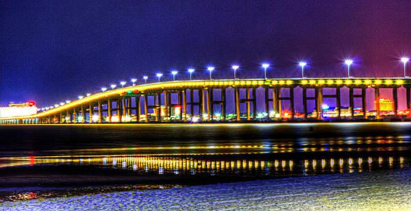 Photograph - Biloxi Bay Bridge by Barry Jones