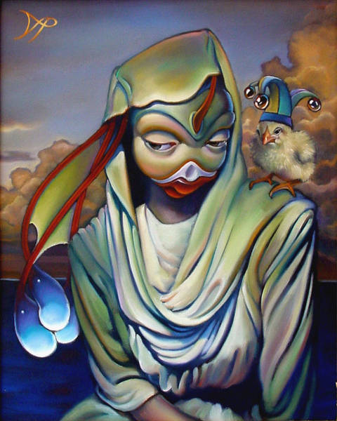 Wall Art - Painting - Binky's Mistress by Patrick Anthony Pierson